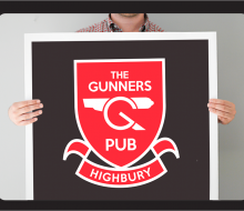 The Gunners Pub – Logo